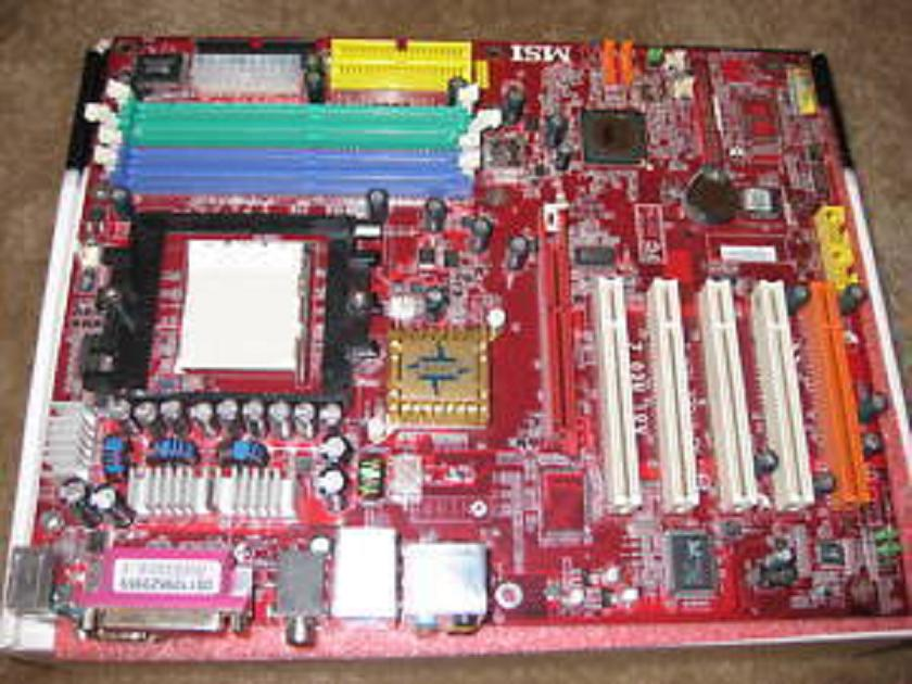 MSI K8T Neo2-F Athlon 64 Motherboard Socket 939 AGP [md212 ...