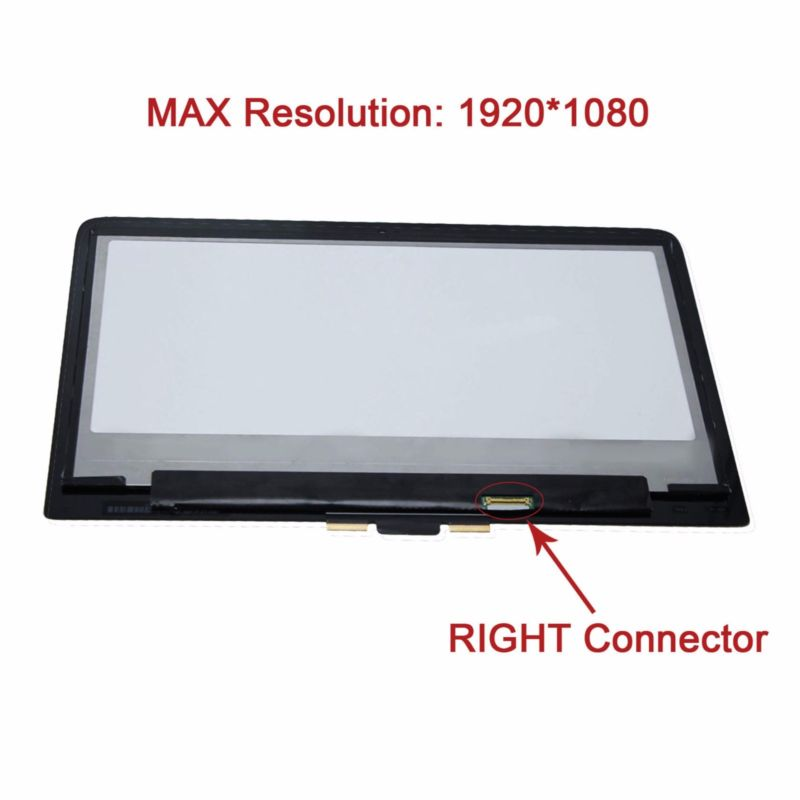 1080P FHD Touch Panel LCD Screen Assembly for HP Pavilion 13-s154sa x360