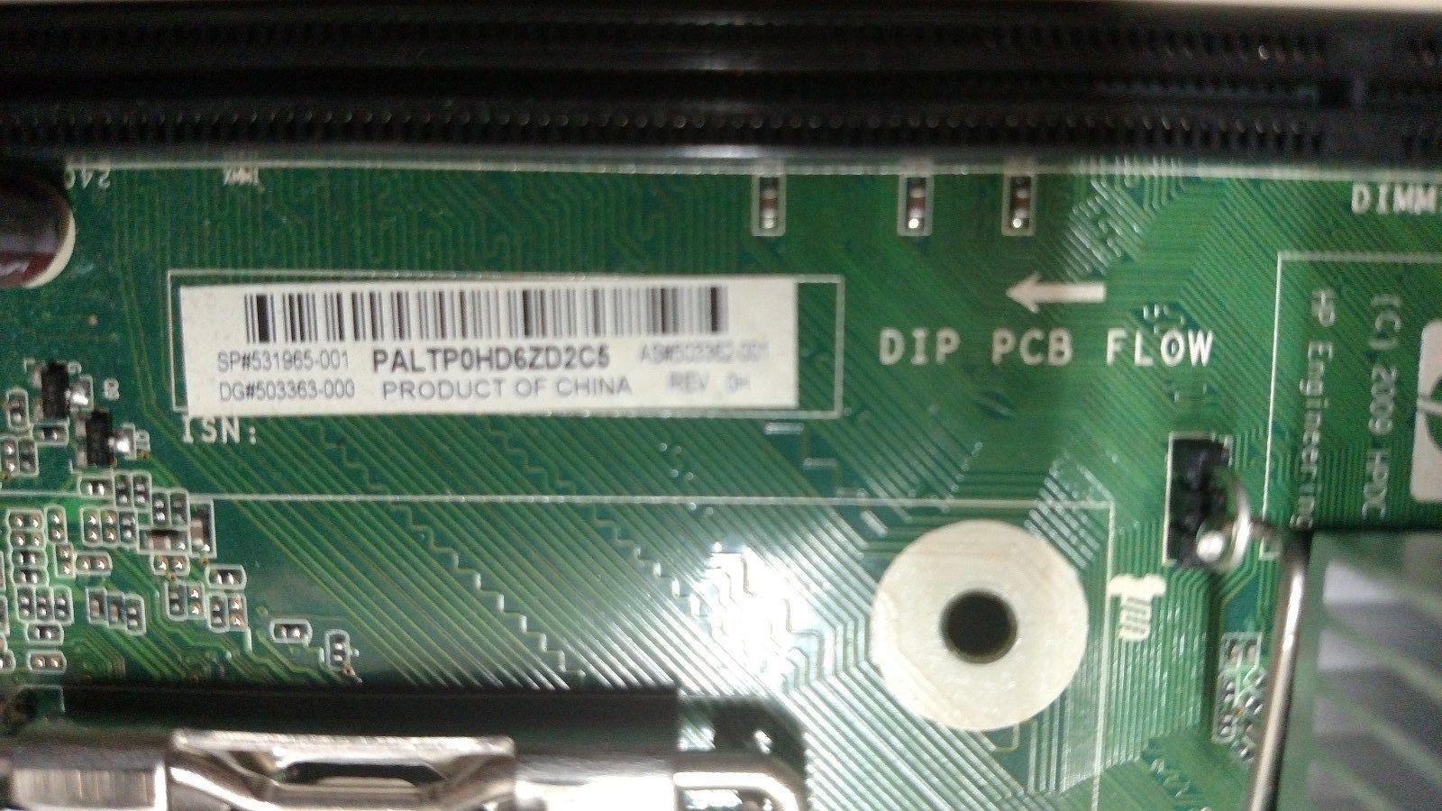 HP 6000 Pro MicroTower 531965-001 Socket 775 Motherboard